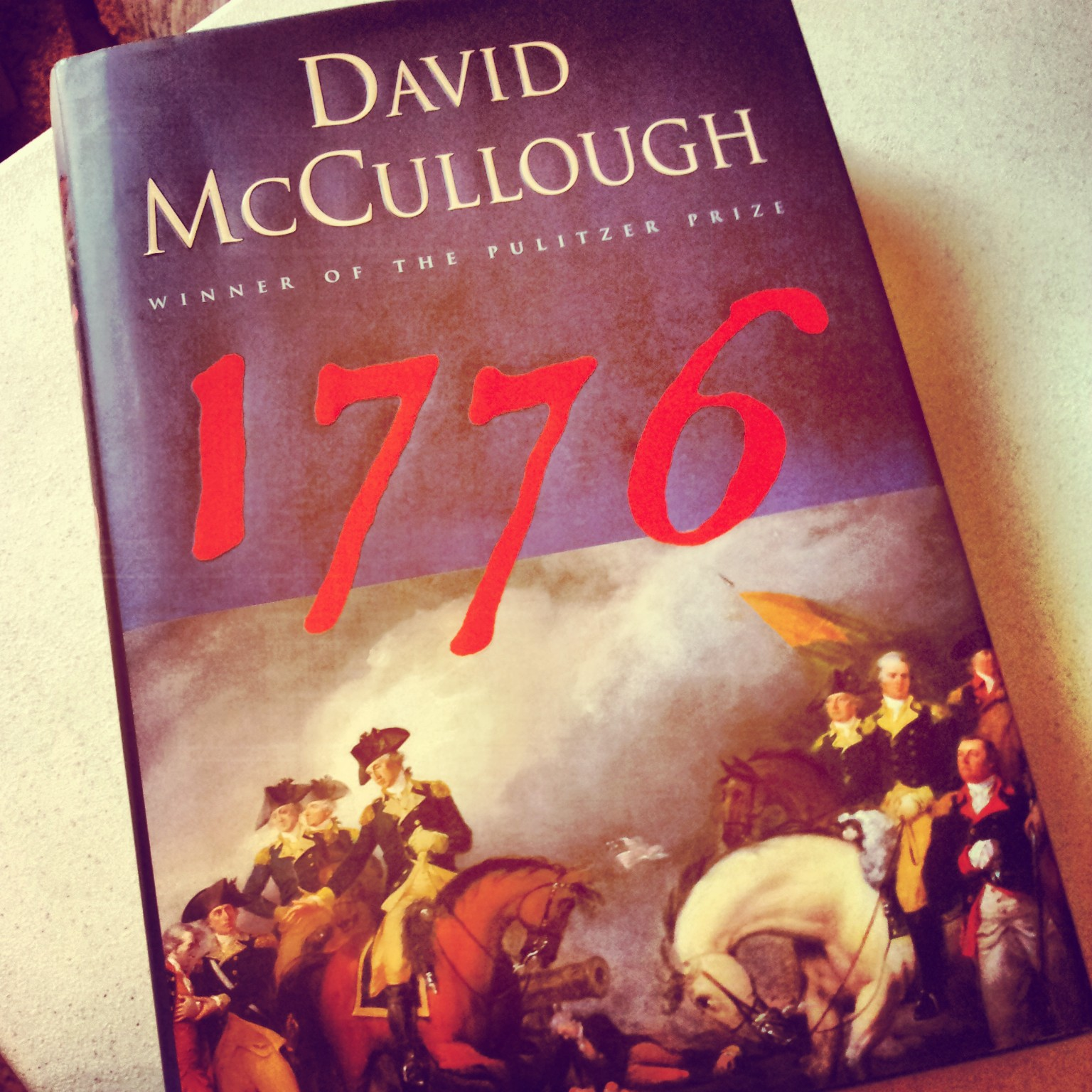 1776 david mccullough analysis essay David mccullough shows how washington won the war of independence by default in 1776.